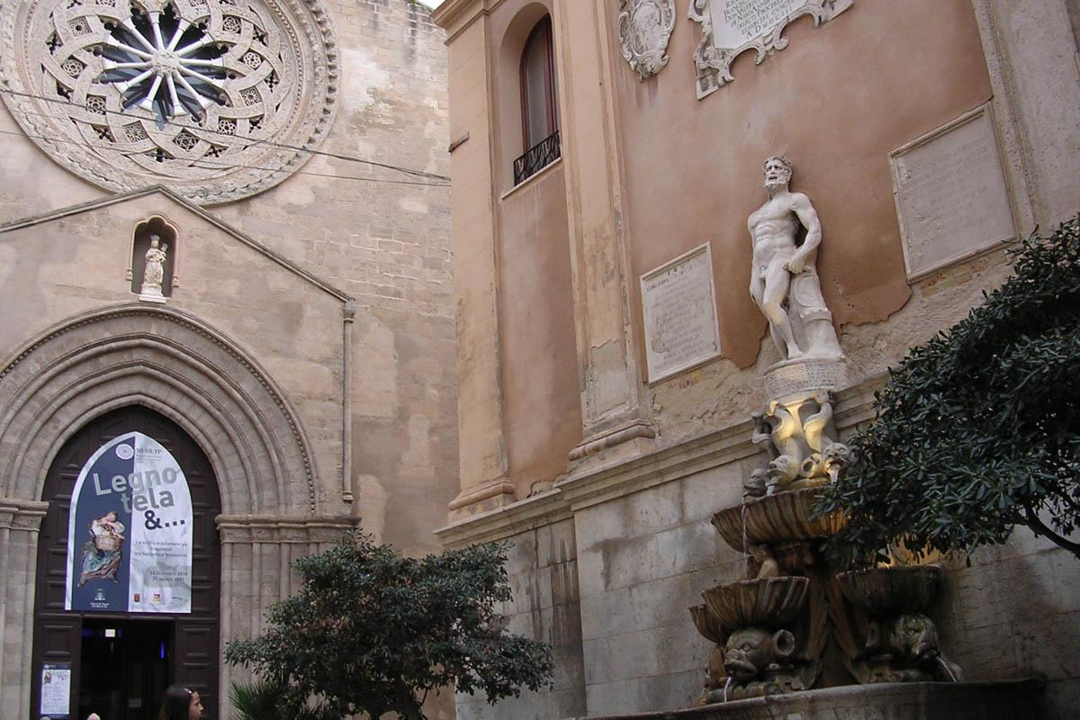 Sant'Agostino E Fontana Del Saturno – Foto ReHu