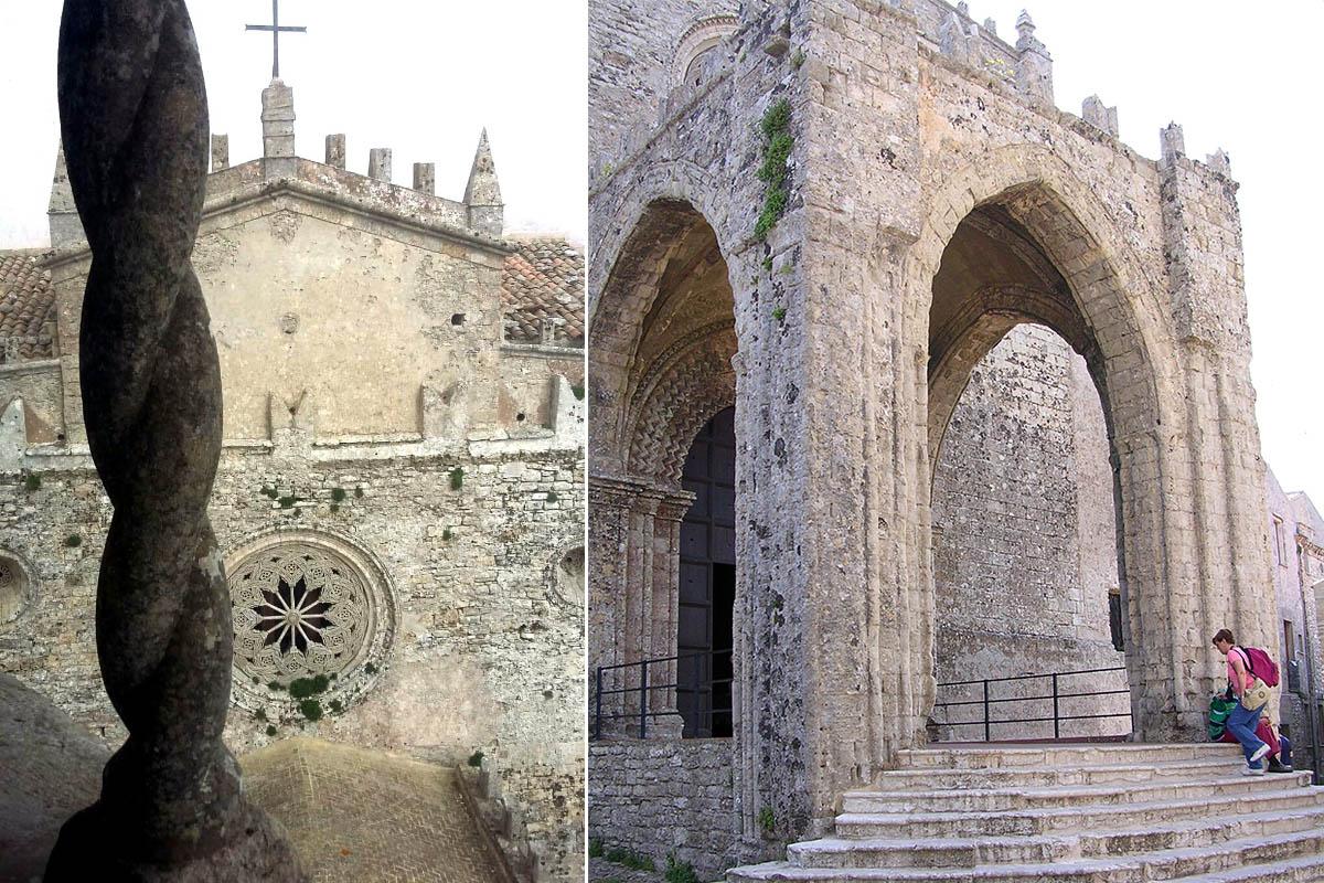 Chiesa Madre Facciata – Foto A. Stellino Loggia – Foto ReHu