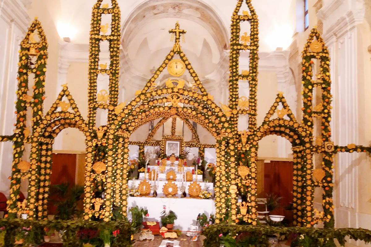 Altare Di San Giuseppe Foto RM Gallo