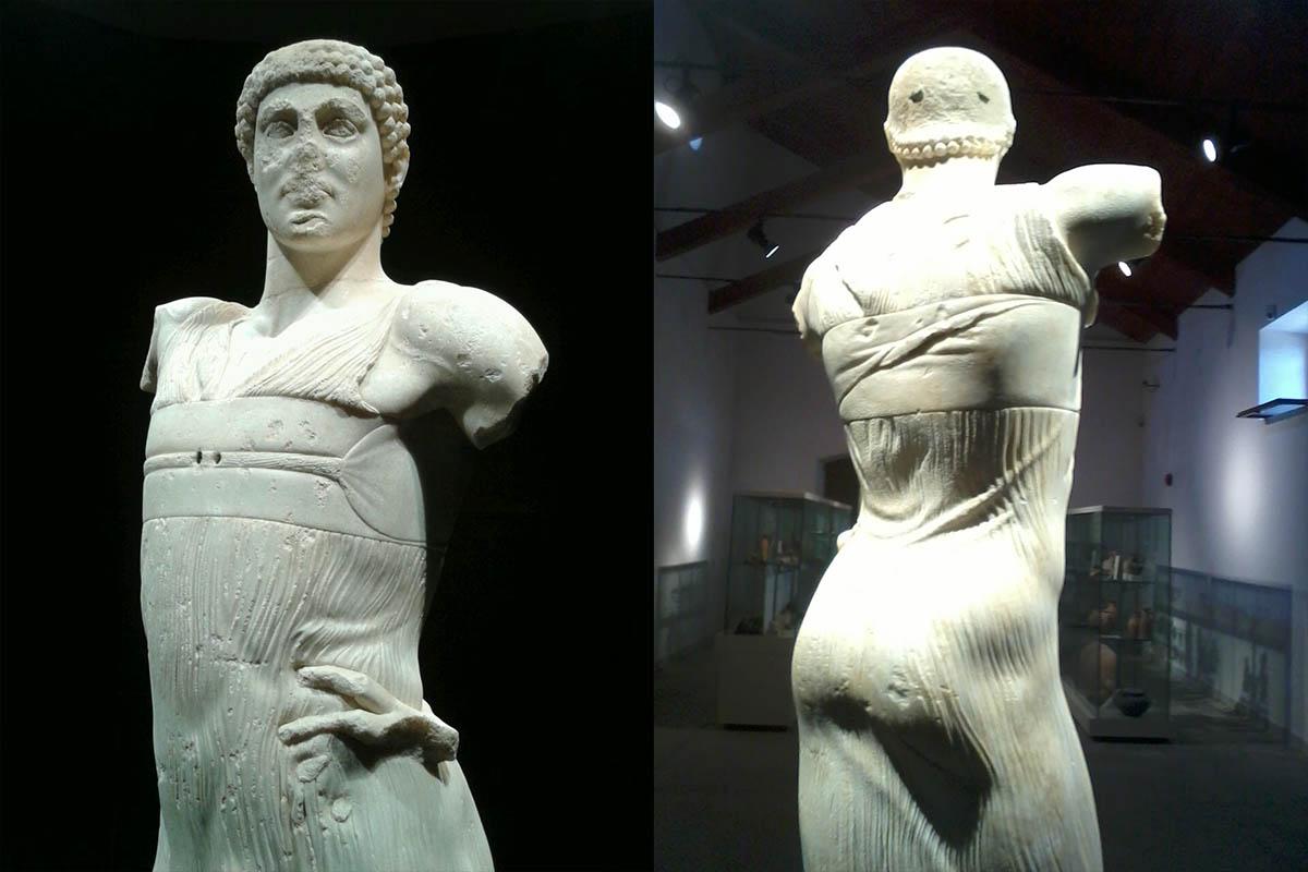 Museo Withaker, Giovane Di Mozia, Marmo, V.sec.a.C. – Foto ReHu