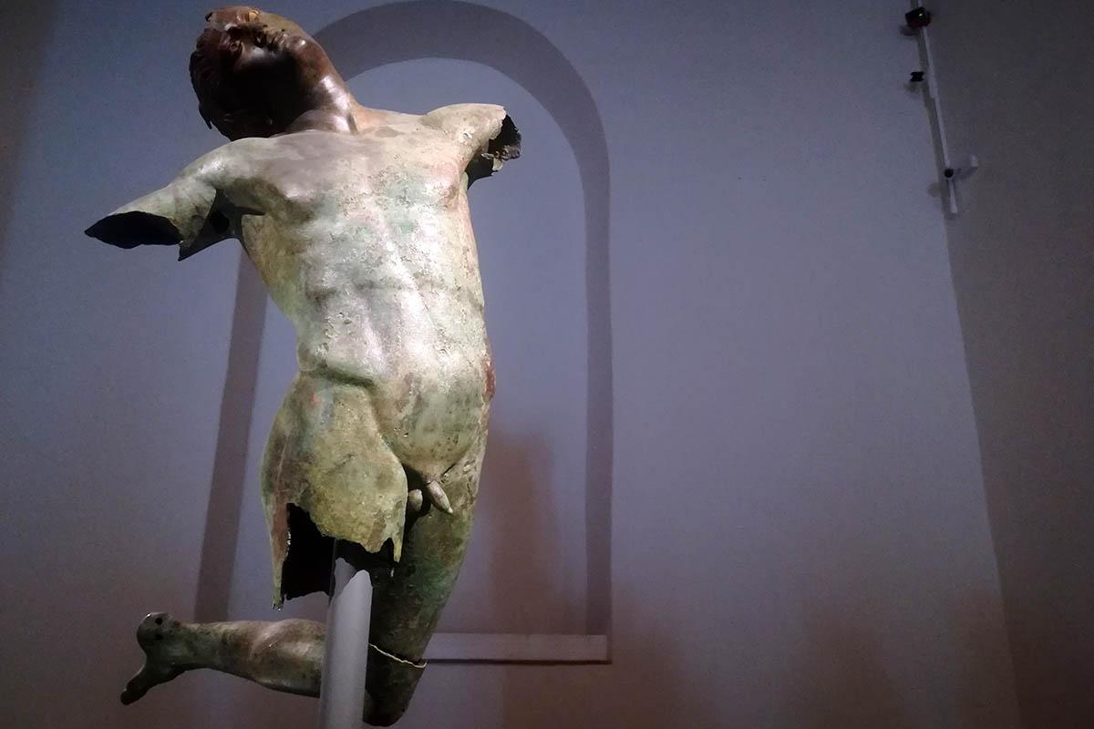 Satiro Danzante, Bronzo IV Sec A. C. Museo Del Satiro – Foto E.Rossi