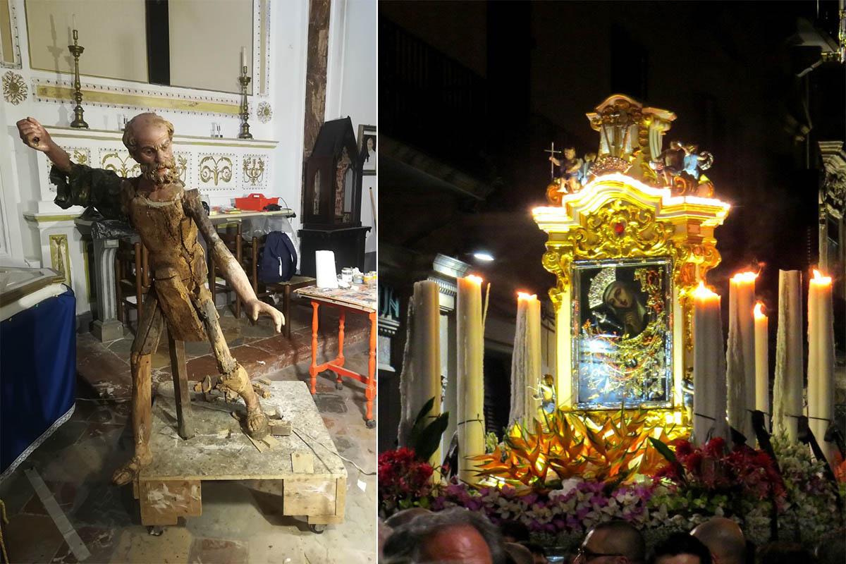 Restauro Statue Della Processione Del Venerdì Santo – Processione Madre Pietà Del Popolo – Foto E.Rossi
