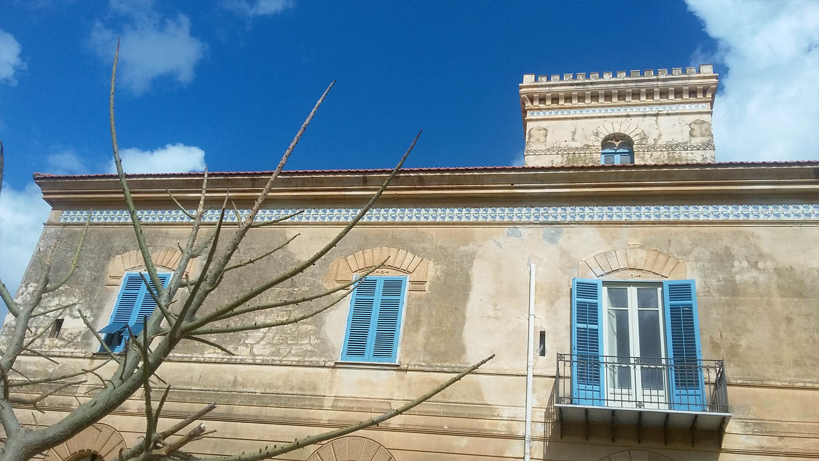 Alcamo Marina, Tonnara Magazzinazzi, villa padronale -foto ReHu