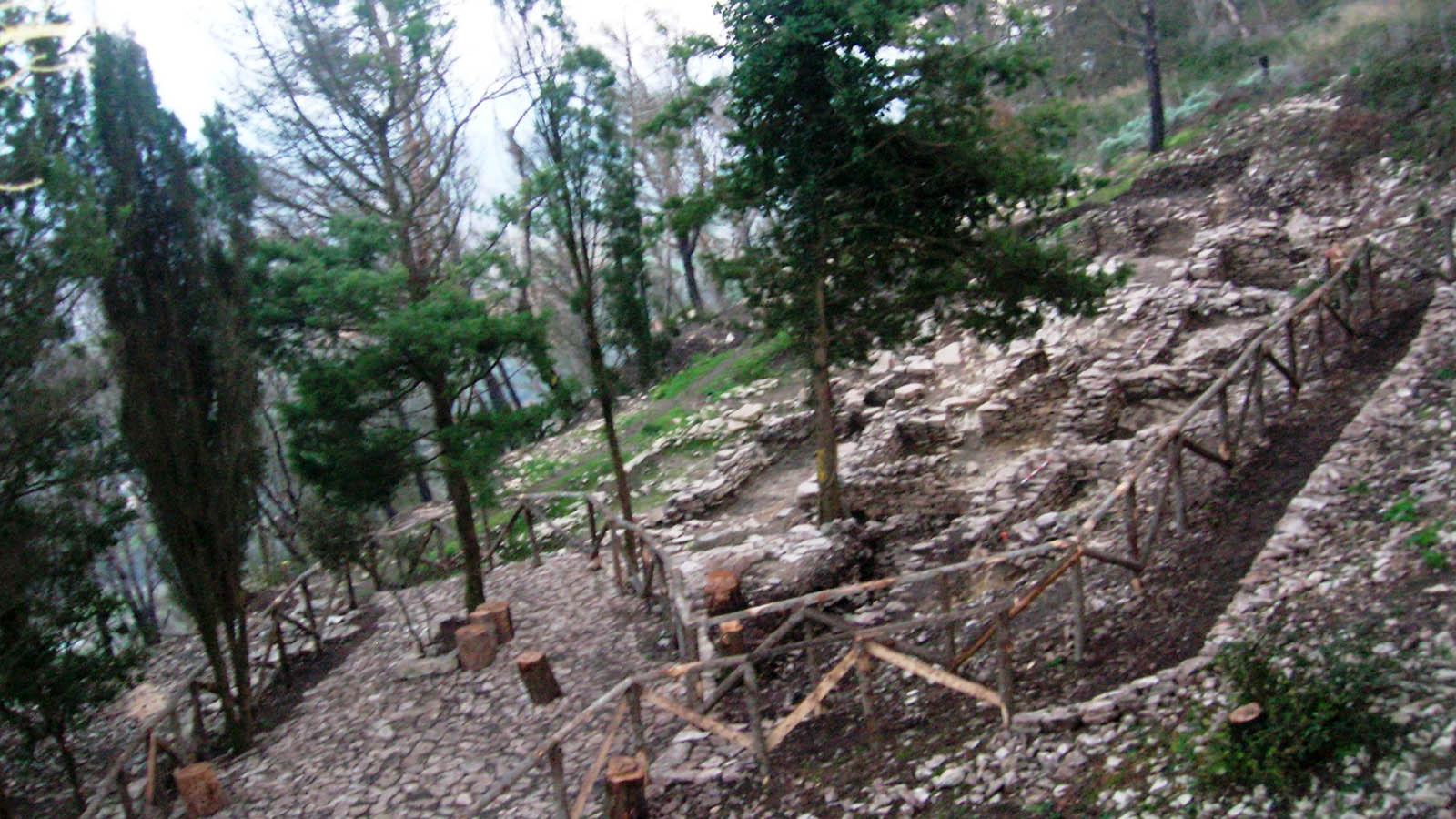 Monte Bonifato, area archeologica foto A. Stellino