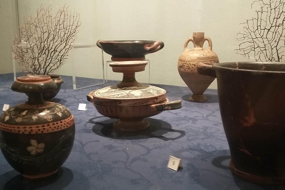 Museo Delle Trame Mediterranee, Sez. Arch – Foto ReHu